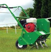Powered Lawn Aerator Hire